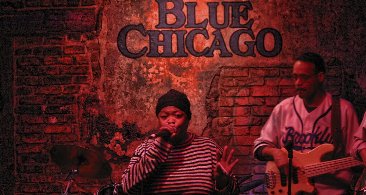 Blues într-un bar din Chicago